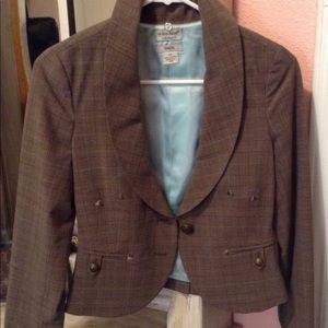 Guess plaid blazer size s/p